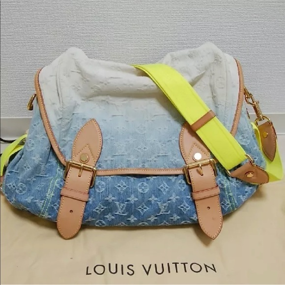 90213d5618c7 Louis Vuitton Handbags - LOUIS VUITTON MONOGRAM SUNRISE DENIM CROSSBODY CR